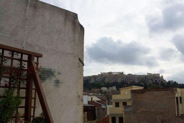 """Το καλύτερο το άφησα για το τέλος: από την ταράτσα του, το """"Λουκούμι"""" βλέπει Ακρόπολη.  © beautyworkshop.gr"""