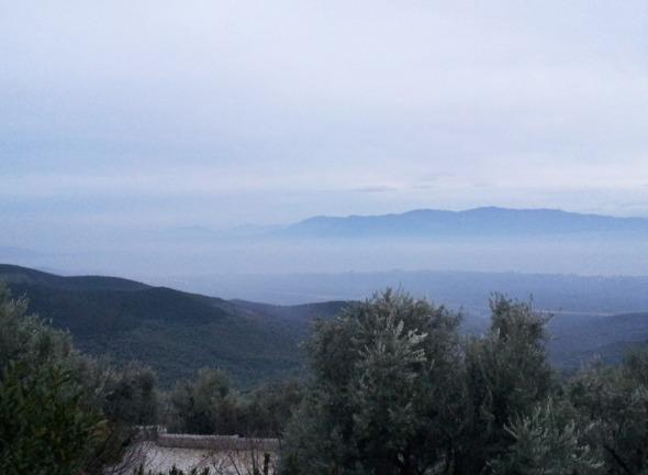 Η θέα από το σπίτι που μας φιλοξένησε © beautyworkshop.gr