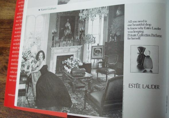 H πρώτη έντυπη διαφήμιση του Pivate Collections (φωτογραφία τραβηγμένη από το βιβλίο) © beautyworkshop.gr