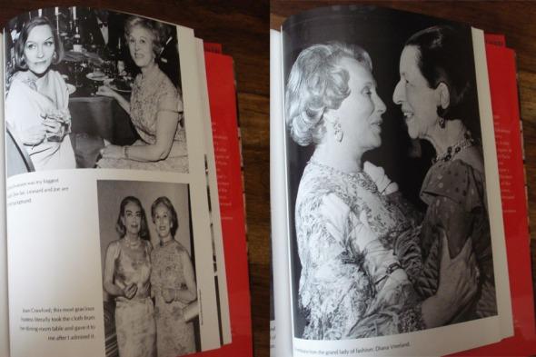 Η Estée είχε φιλικές σχέσεις με τους πιο glamorous ανθρώπους του Χόλυγουντ και της μόδας, που αποτελούσαν την καλύτερη κινητή διαφήμιση για τα αρώματά της. Εδώ, με τις Gloria Swanson (η μεγαλύτερη φαν του Youth Dew, όπως λέει η ίδια η Estée), Joan Crawford (αριστερά) και Diana Vreeland (φωτογραφία τραβηγμένη από το βιβλίο) © beautyworkshop.gr