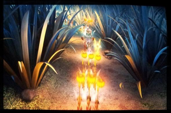 Νεραϊδοπαρέλαση (Σκηνή από την ταινία Tinkerbell and the lost treasure)