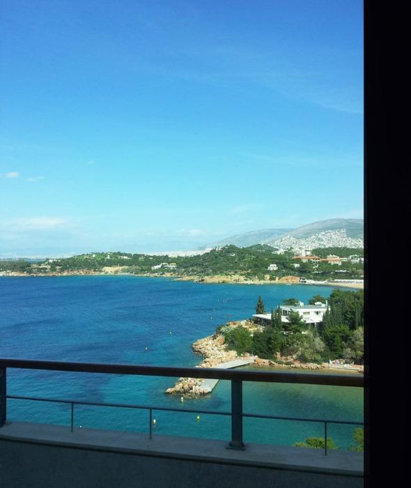 Η θέα από τη σουίτα του Αστέρα όπου έγινε η παρουσίαση © beautyworkshop.gr