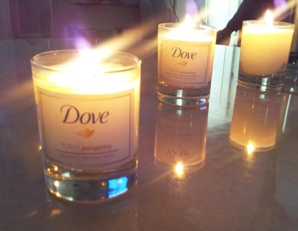 Τα κεριά Dove μυρίζουν υπέροχα, όμως δεν κυκλοφορούν στο εμπόριο... Μήπως να το ξανασκεφτούν εκεί στην εταιρεία; © beautyworkshop.gr