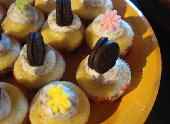 Μίνι cupcakes σε μέγεθος μπουκίτσας © beautyworkshop.gr