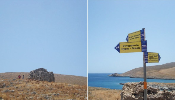 Μην περιμένετε να δείτε έναν περιφραγμένο ή comme il faut αρχαιολογικό χώρο. Υπάρχει μια ελαφριά αίσθηση εγκατάλειψης, όμως, τα vibes είναι πανταχού παρόντα. © beautyworkshop.gr