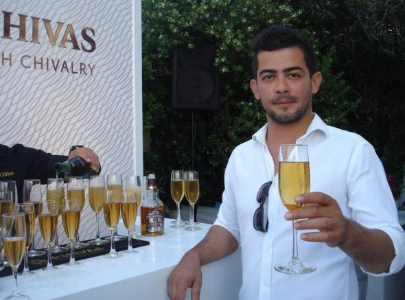Ο ambassador του Chivas Μιχάλης Καγιάννης.