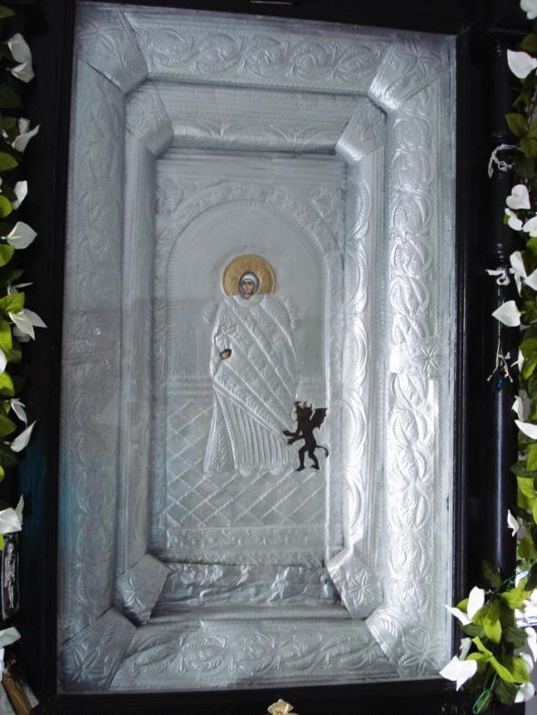 Η εικόνα της Αγίας Μαρίνας. © beautyworkshop.gr