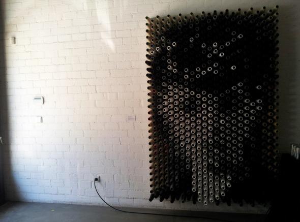 Installation στο χώρο τέχνης Ε.Δ.Ω., στο Γκάζι © beautyworkshop.gr