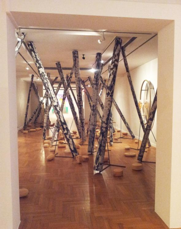 Από την έκθεση Martin Kippensberger: Cry for Freedom, στο Μουσείο Κυκλαδικής Τέχνης. © beautyworkshop.gr