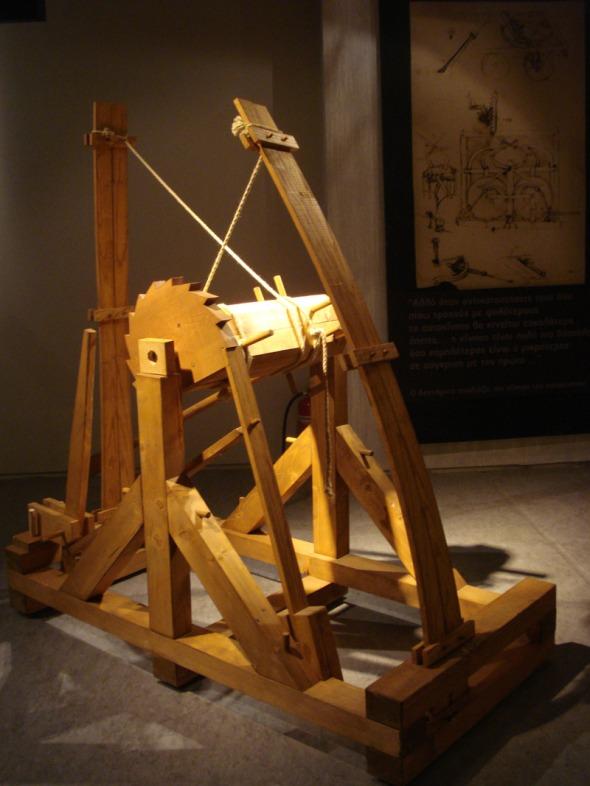 Αν και μισούσε τον πόλεμο, είχε σχεδιάσει κάποιες από τις πιο ευφάνταστες πολεμικές μηχανές της εποχής © beautyworkshop.gr