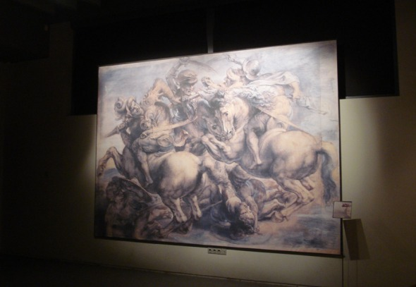 Η Μάχη του Άνγκιαρι, ένα από τα έργα μυστήριο, το οποίο αποδίδεται στον Leonardo, γνωρίζουμε πως υπάρχει αλλά, μέχρι σήμερα δεν έχει βρεθεί πουθενά © beautyworkshop.gr