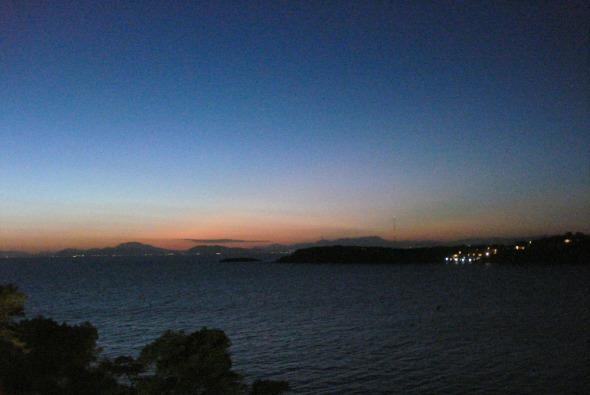 Θέα από τη βεράντα. © beautyworkshop.gr