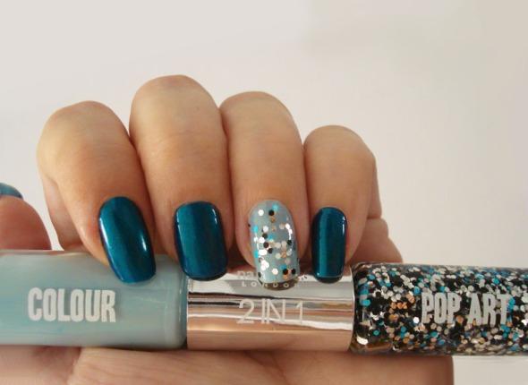 Κάτι ο πίνακας, κάτι η νέα διπλή σειρά βερνικιών της Nails Inc (αποκλειστικά στα Sephora) με ενέπνευσε για λίγο nail art... © beautyworkshop.gr