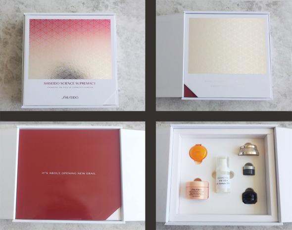 Η Shiseido κάτι ετοιμάζει... Πριν από κάμποσες μέρες, έλαβα αυτό το κουτί, που περιέχει 5 δείγματα από τα εμβληματικά προϊόντα της μάρκας, και ένα blind sample από ένα νέο προϊόν skincare για το οποίο θα μάθουμε λεπτομέρειες προσεχώς (υποθέτω μετά τα μέσα Σεπτέμβρη). Το χρησιμοποιώ εδώ και 1 εβδομάδα, κάθε πρωί. Νωρίς για συμπεράσματα, ωστόσο, η αλήθεια να λέγεται, τόσο πλούσιο και πολυτελές όσο ήταν αναμενώμενο να είναι. Θα σας κρατήσω ενημερωμένες. © beautyworkshop.gr