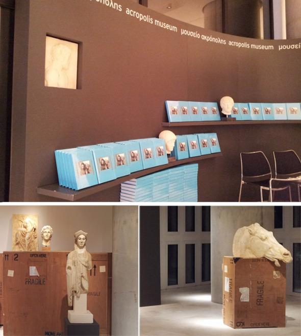 Η παρουσίαση έγινε πριν λίγες μέρες στο Μουσείο της Ακρόπολης, και χαίρομαι πολύ που τελικά πήγα, παρά το γεγονός πως ο καιρός δεν βοηθούσε (καθόλου, όμως) εκείνο το βράδυ. © beautyworkshop.gr